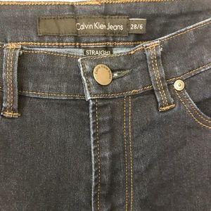 Calvin Klein Jeans - Straight Leg Dark Wash